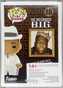 #18 Notorious B. I. G. Pop Rocks Funko POP Rare GRAIL Inc Pop Protector
