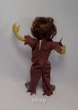 1984 Michael Jackson THRILLER Graveyard Gang WEREWOLF dog figure toy gpk mego ko