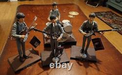 1991 The Beatles Hamilton Gifts 10 Figure Set Complete With Tags Rare Paul John