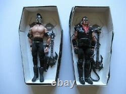 1999 21st CENTURY TOYS MISFITS JERRY ONLY & DOYLE WOLFGANG 12 DOLL FIGURE SET