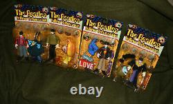 1999 McFarlane Action Figures The Beatles YellowSubmarine (entire set of 4) NIB