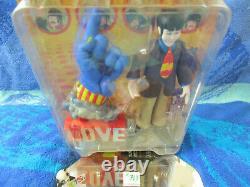 1999 McFarlane Toys-Beatles Yellow Submarine Action Figures (Lot of 4)(#719)