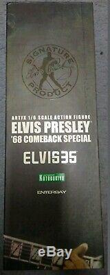 1/6 ELVIS PRESLEY 68 COMEBACK by ENTERBAY KOTOBUKIYA ARTFX Mint in Box