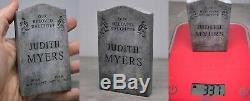 1/6 Michael Myers. Halloween. Gravestone. Real Stone made by SCS