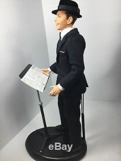 1/6 Th Scale Frank Sinatra Singing Display+music Stand Mattel Dragon Bbi DID 21