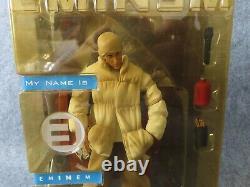 2001 Art Asylum Eminem Action Figure (Sealed) Rap Hip Hop Memorabilia