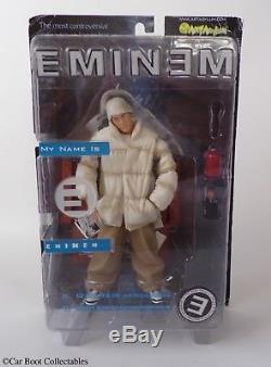 2001 Art Asylum Eminem (Jacket) Action Figure Rap Hip-Hop Music Memorabilia