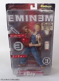 2001 Art Asylum Eminem Slim Shady Action Figure Rap Hip-Hop Music Memorabilia