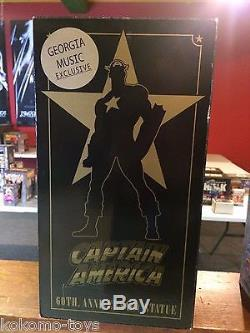 2001 Bowen Marvel Statue Captain America 60th WWII #17 Limited Georgia Music