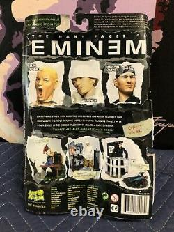 2001 Eminem Slim Shady Action Figure Toy Chainsaw Art Asylum PLEASE READ