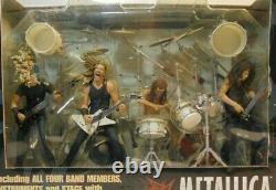 2001 METALLICA Harvester of Sorrow Stage Box Set By McFarlane Toys Original Box