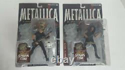 2001 McFarlane Metallica Harvesters of Sorrow 4 Figure Set RARE