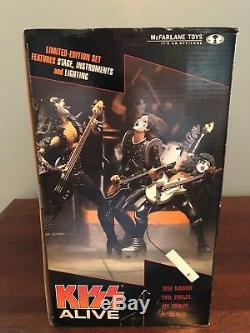 2002 McFarlane Kiss Toys Alive Box Set Complete Limited Edition Action Figure
