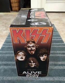 2002 McFarlane Limited Edition KISS ALIVE Box Set Stage Action Figures Lighting