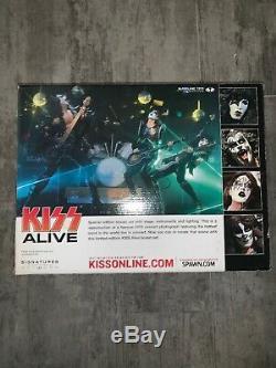 2002 Mcfarlane Kiss Alive Era 4 Figure Deluxe Box Set Gene Paul Etc Sealed Nib