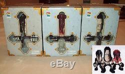 2005 Danzig 3 Faces Medicom Set MIB Misfits Samhain Glenn toy figures verotik