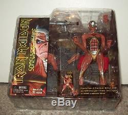 2005 Iron Maiden Eddie Cyborg Somewhere In Time Figure New Neca toy mcfarlane
