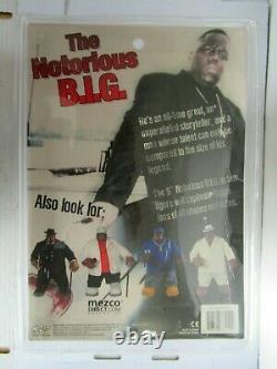 2006 Mezco The Notorious B. I. G. Biggie Smalls 9 Figure In Black