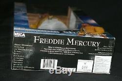 2006 Neca Freddie Mercury Queen 18 Singing Action Figure Bohemian Rhapsody New