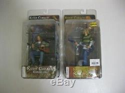 2006 Neca Nirvana Kurt Cobain Smells Like Teen Spirit Unplugged 2 Figure Set Nip