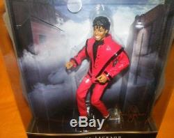 2010 Playmates Toys / Character Michael Jackson Thriller 10 Doll Figure Boxed