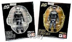 2013 Bandai Toys Sh Figuarts Daft Punk Set Of 2 6 Action Figures Mib Music