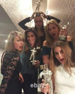 2020 MTV Video Music Awards Moonman VMA winner Silver Statue Figure Resin 12.5