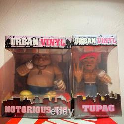 2pac Notorious B. I. G. Urban Vinyl Tupac Biggie Figure Used