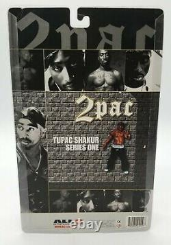 2pac Tupac Shakur All Entertainment Series One 2001 8 Action Figure New Package