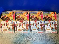 4 McFARLANE THE BEATLES YELLOW SUBMARINE SET SGT PEPPERS LONELY HEART CLUB BAND