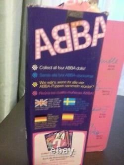 ABBA Frida FRIDA ANNI-FRID LYNGSTAD (1978 MATCHBOX DOLL IN BOX ORIG!)