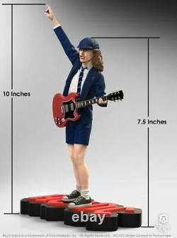 AC/DC Angus Young II Rock Iconz Statue-KNUANGUS200-KNUCKLEBONZ