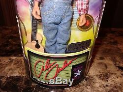 Alan Jackson Rare Hand Signed Limited Edition Action Figure Country Music Star