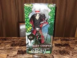 Alice Cooper Rare Authentic SIGNED Limited 18 Action Figure Toy Art Asylum COA