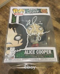 Alice Cooper Signed/Autographed Funko Pop Vinyl #69 (KISS/ACDC/Motley Crue)
