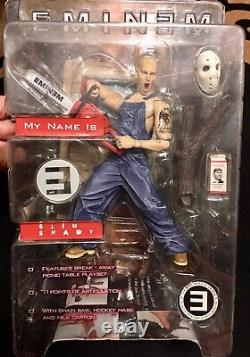 Art Asylum- 2001- Eminem Slim Shady Action Figure- New In Box