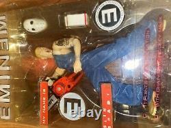 Art Asylum Eminem Action Figure Slim Shady My Name Is Marshal Mathers Many New