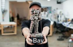 Astronaut KAWS MTV 11 Life Size MoonMan Video Music Award Trophy Gold black
