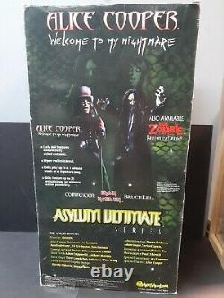 Asylum Alice Cooper 18 Figure Welcome To My Nightmare Sound Iron Maiden Eddie