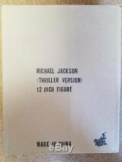Authentic MICHAEL JACKSON THRILLER 1/6 scale version figure from Japan NEW