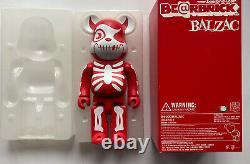 BALZAC Horror Atom-Age Medicom Bearbrick 400% from 2006! Brand new