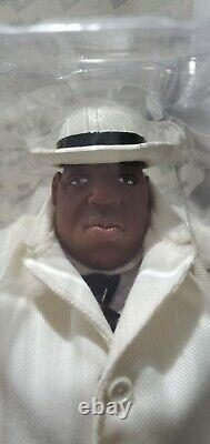 BIGGIE SMALLS Notorious B. I. G. Mezco RARE Exclusive 9 Action Figure 2006 NEW