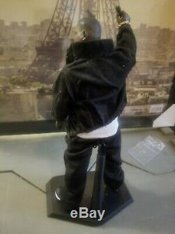 BIGGIE SMALLS custom 1/6 scale Action Figure wit 2 chains, watch & bracelet