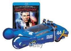 BLADE RUNNER COLLECTOR'S BOX Medicom Toy MAV POLICE SPINNER Blu-ray F/S JAPAN