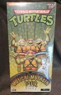 BNIB Teenage Mutant Ninja Turtles Musical Mutagen Tour NECA 2020 Convention