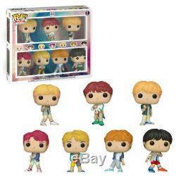 BTS 7-Pack V Suga Jin RM Jimin J-Hope Jung Kook Boygroup POP! Rocks Figur Funko