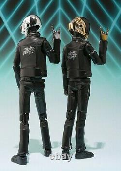 Bandai SH Figuarts Daft Punk Guy Man & Thomas Bangalter figures
