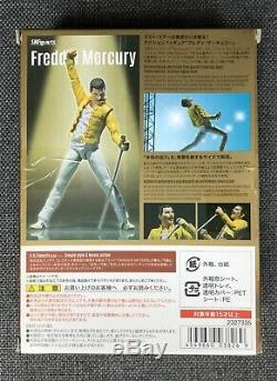 Bandai Tamashii Nations Freddie Mercury S. H. Figuarts Action Figure Queen NEW