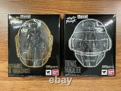 Bandai Tamashii SH Figuarts Daft Punk GUY MAN & BANGALTER Full Figure Set