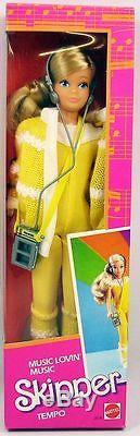 Barbie Music Lovin' Skipper Tempo Mattel 1985 (ref. 2854)